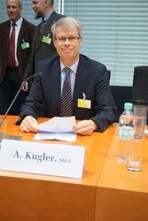 Andreas Kugler als Sachverständiger im Deutschen Bundestag zur Zukunft des Petitionswesens